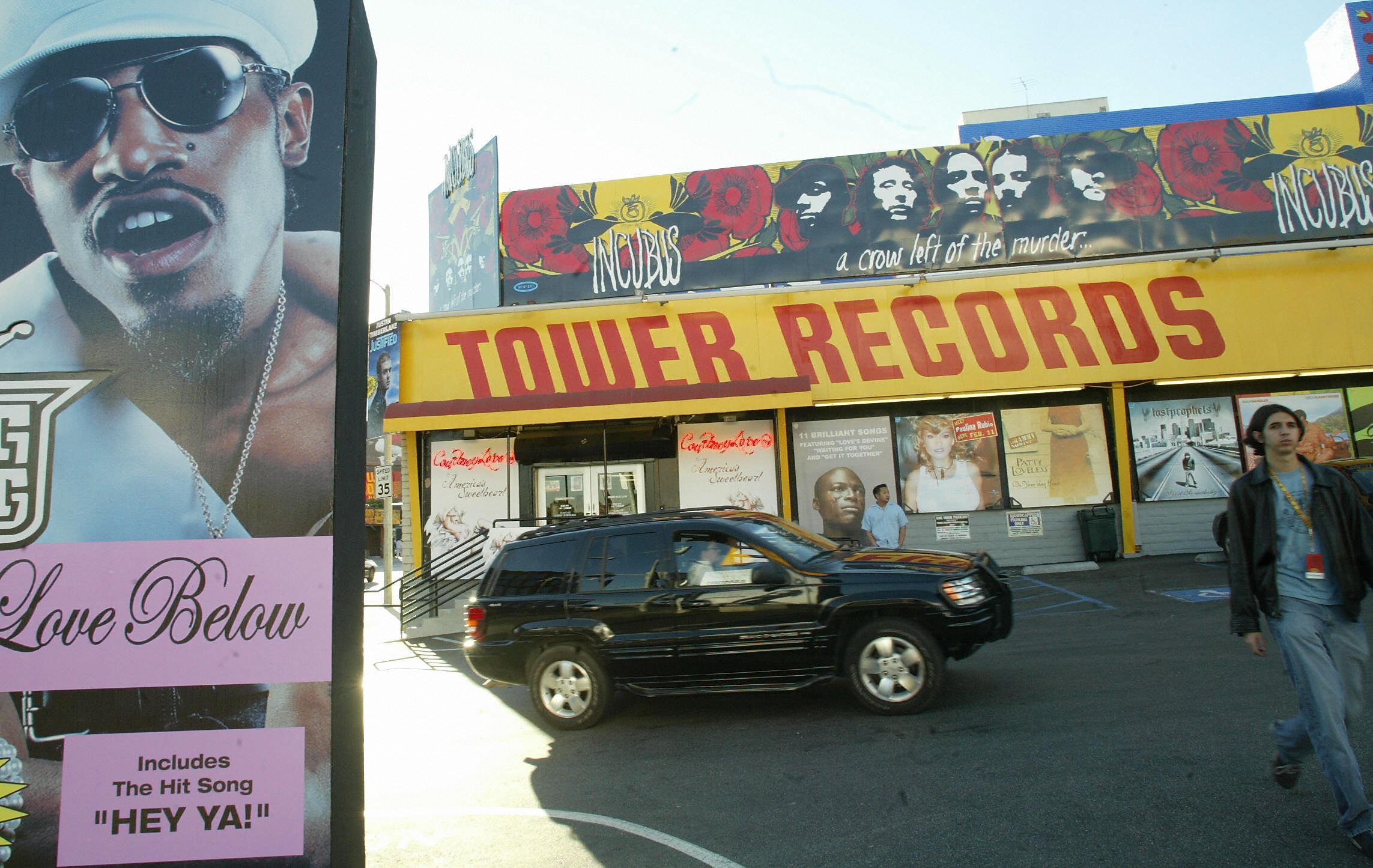 Tower Records store
