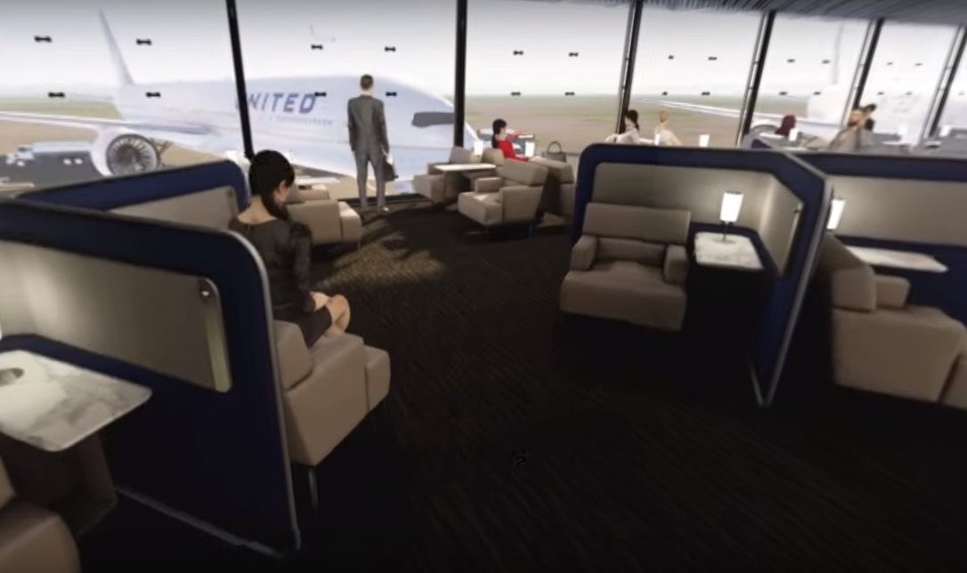 United Polaris Club Lounge O'hare Chicago