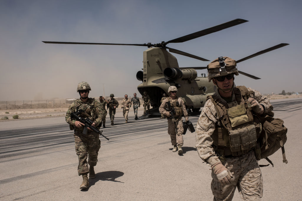 United States Military Troops