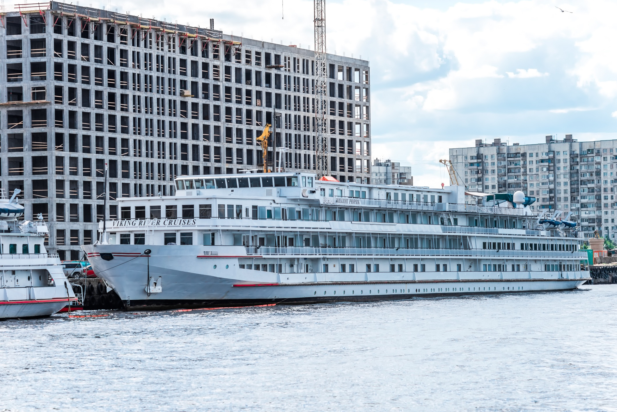 Viking river cruise lines ship