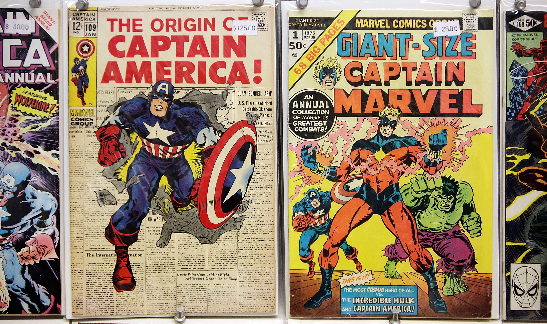 Vintage marvel comics
