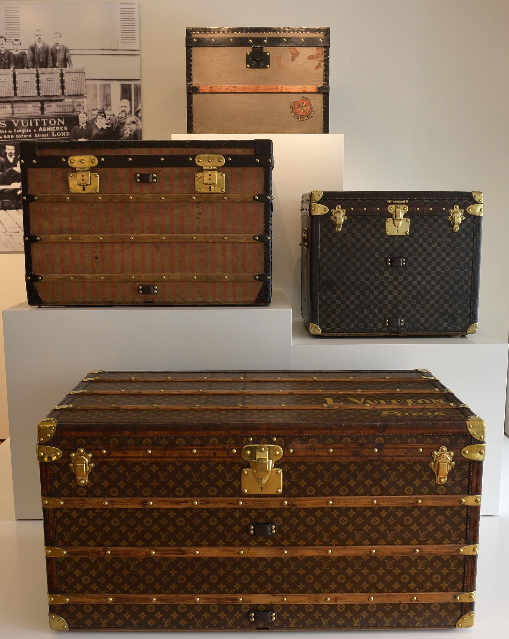 Vintage Louis Vuitton Trunks