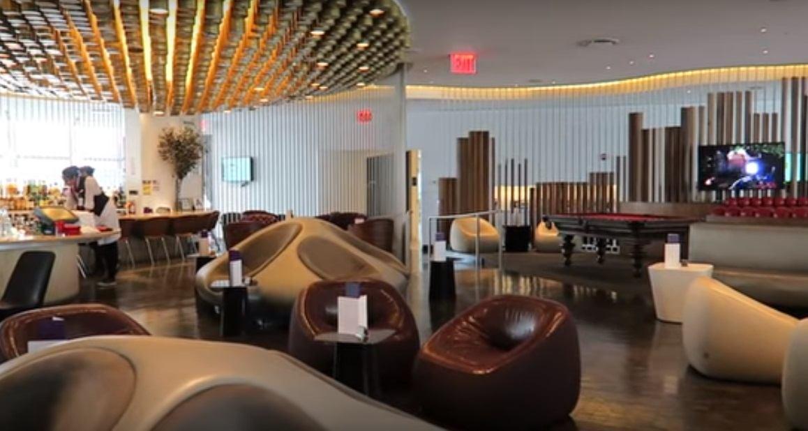 Virgin Atlantic JFK lounge