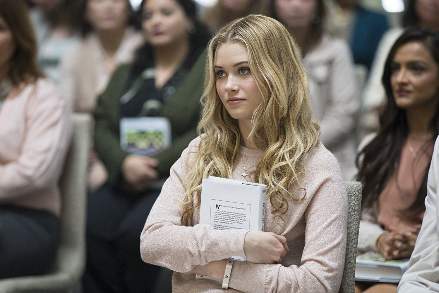 Virginia Gardner as Karolina Dean in Marvel's Runaways