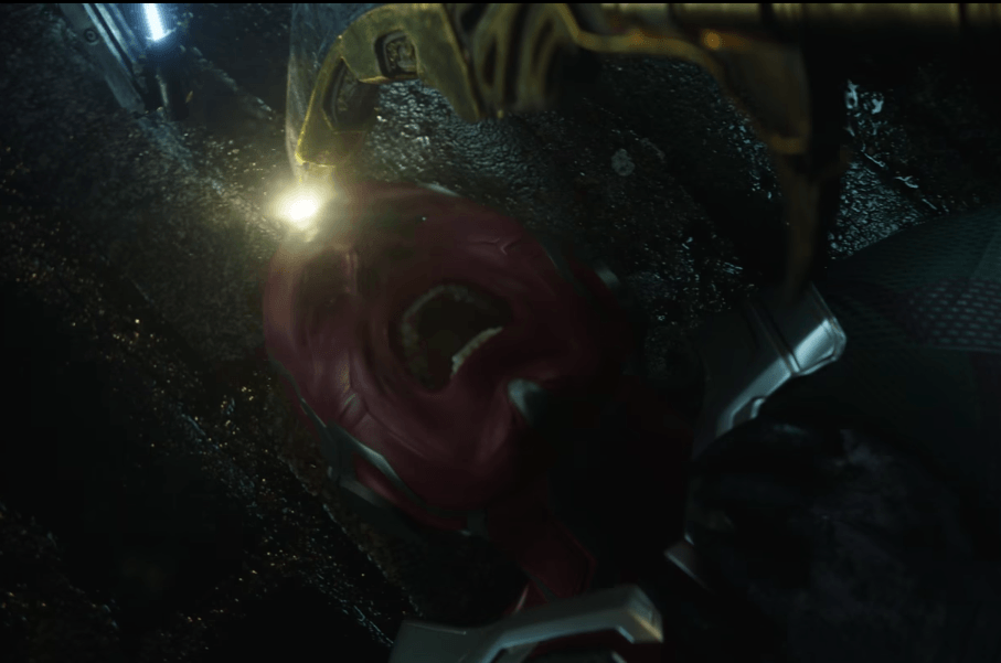 Vision is in trouble in Avengers: Infinity War
