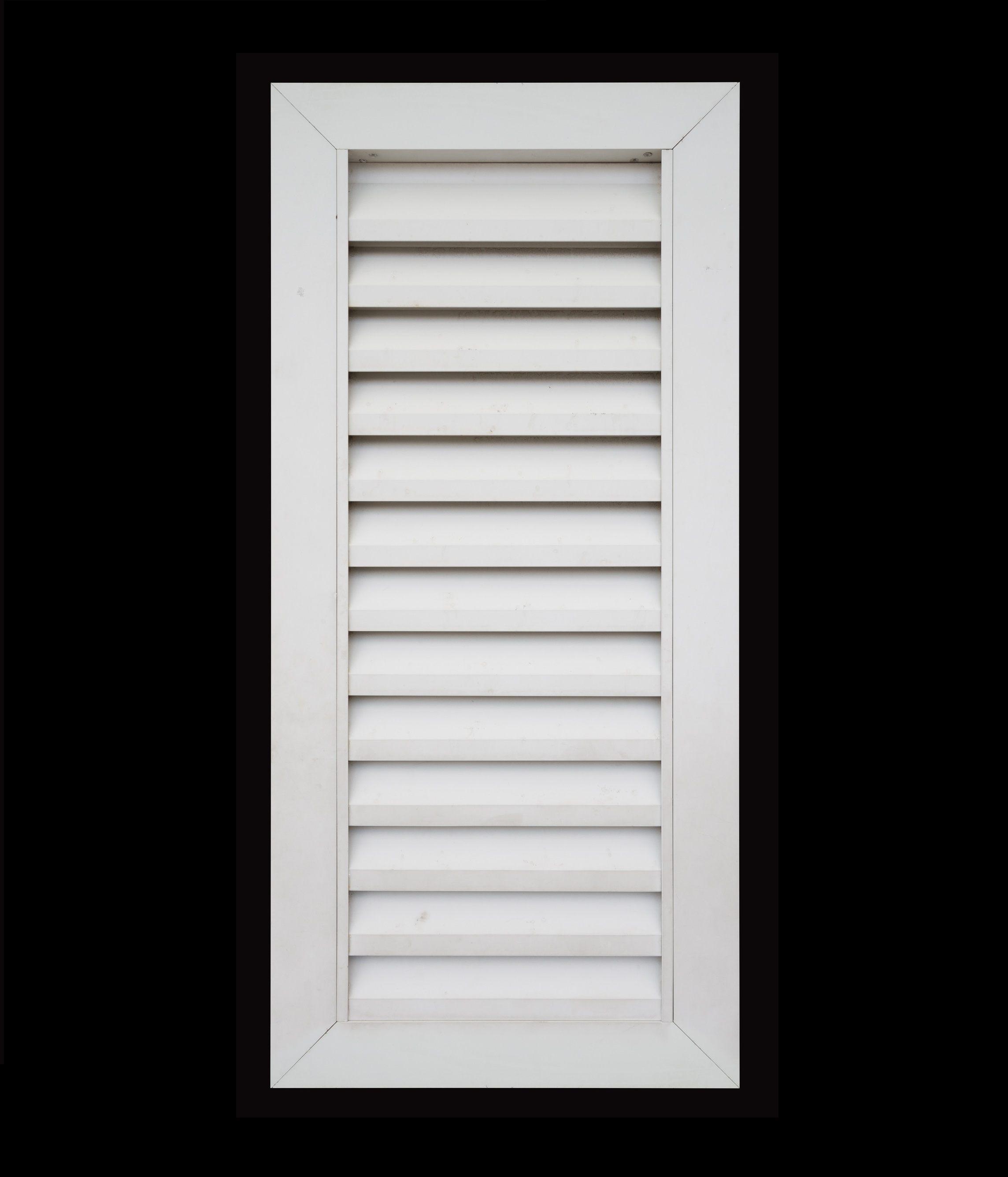 White window shutter