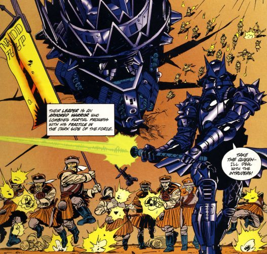 Comic book depiction of Freedon Nadd