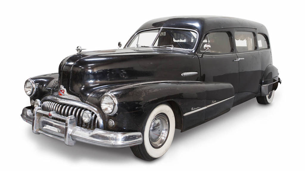 Neil Young's 1948 Buick Roadmaster Hearse