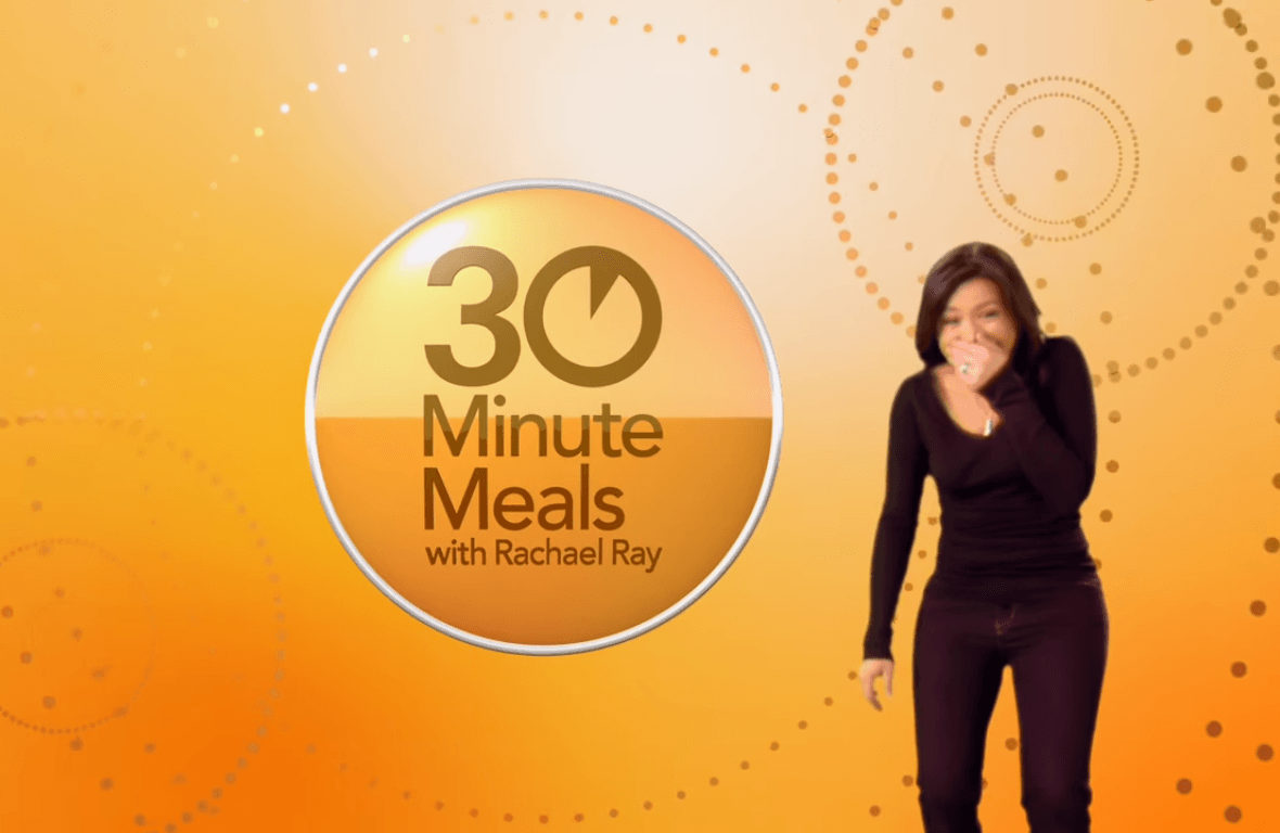 30 minute meals with Rachael Ray