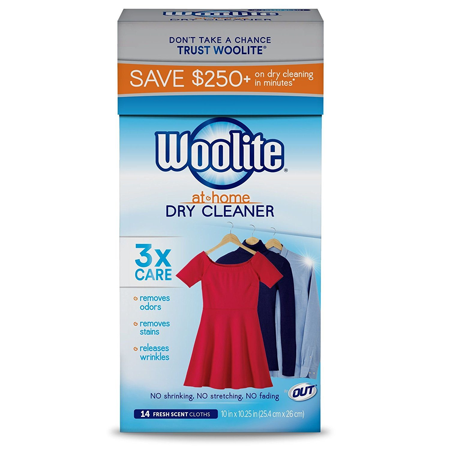Woolite dry cleaning kit