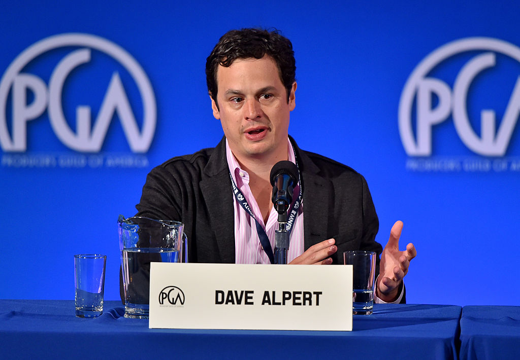 Producer Dave Alpert speaks at the 7th Annual Produced By Conference at Paramount Studios.