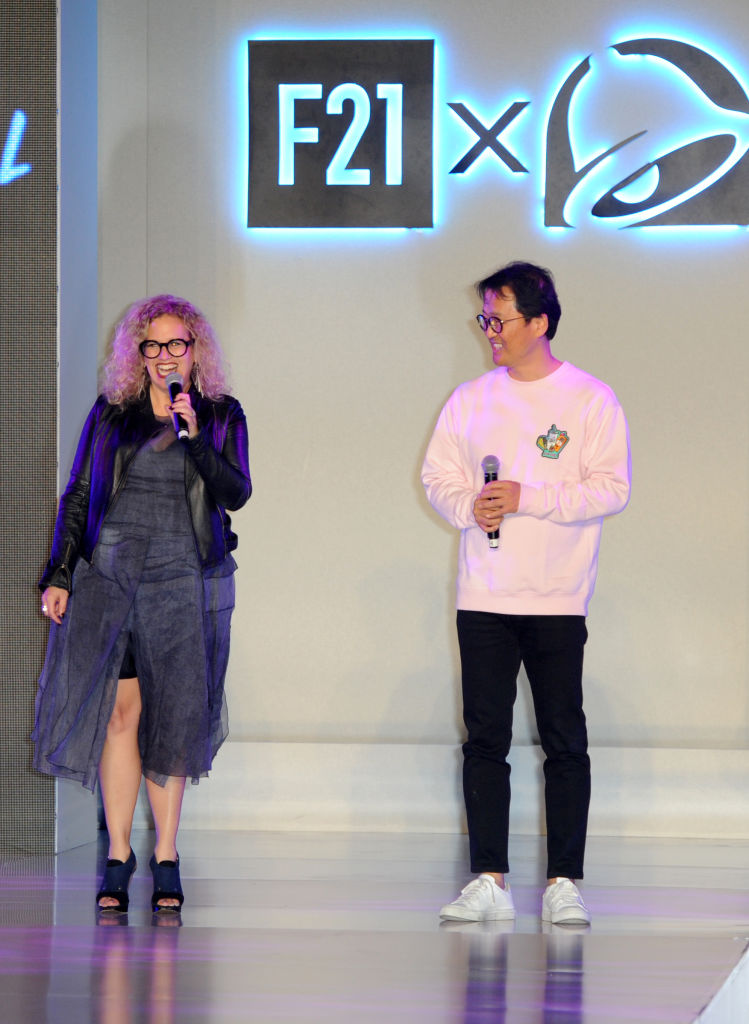 Chief Marketing Officer at Taco Bell Corp Marisa Thalberg and Forever 21 CEO Do Won Chang