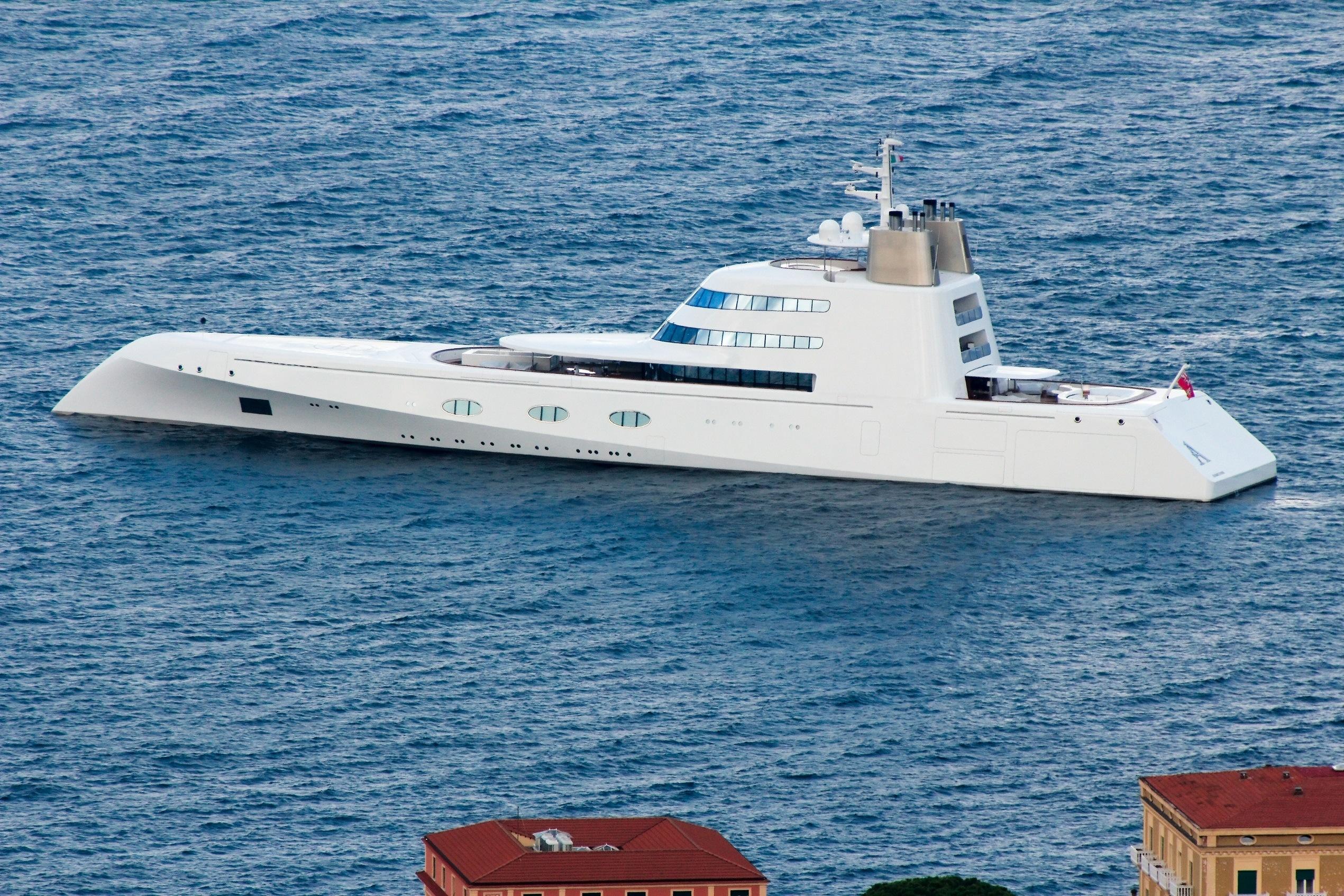 Motor Yacht A Luxury Yacht
