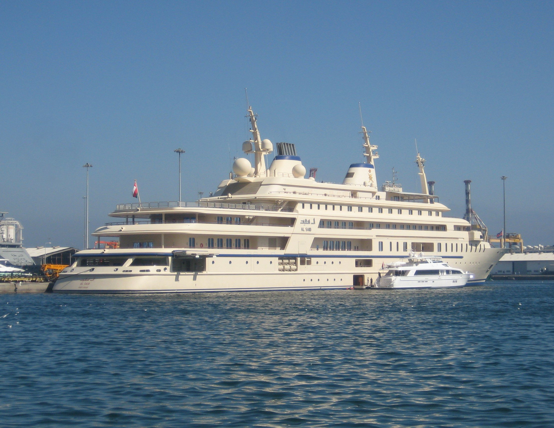 Al-Said luxury Yacht