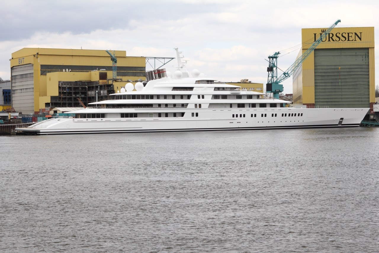 Azzam luxury yacht