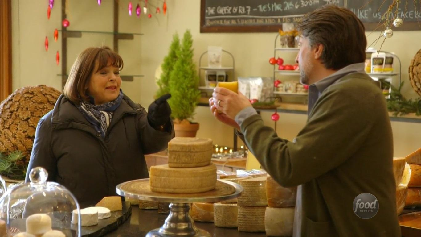 Ina Garten buying cheese