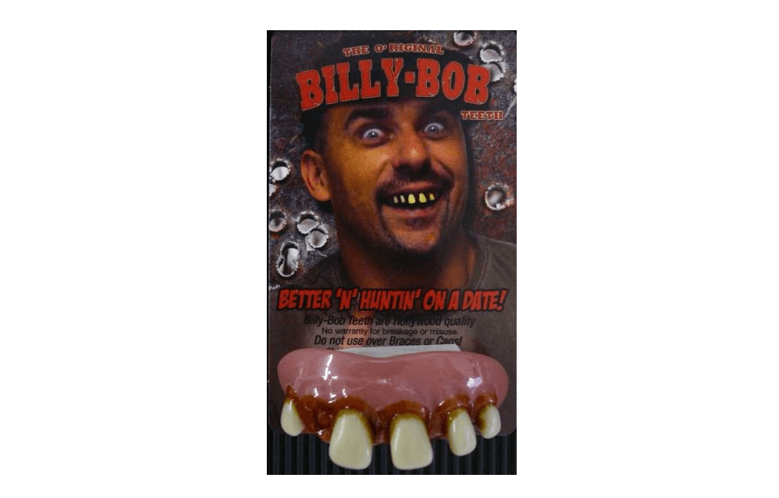 Billy Bob False Teeth for decayed and yellow teeth