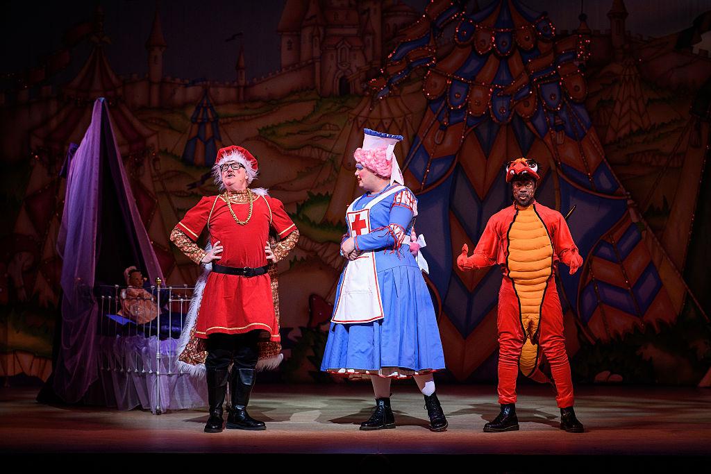 British Pantomime Sleeping-Beauty