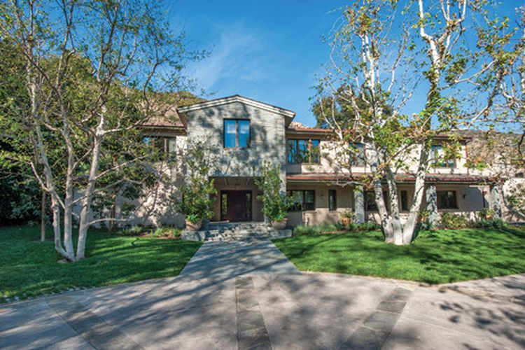 Britney Spears large Mediterranean home