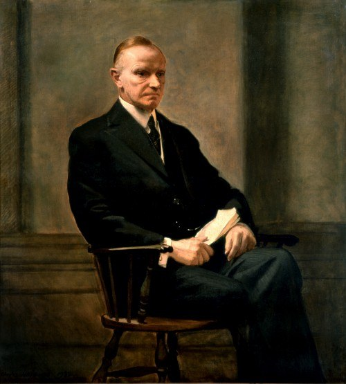 Calvin Coolidge portrait