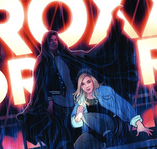 Cloack & Dagger promotional artwork.