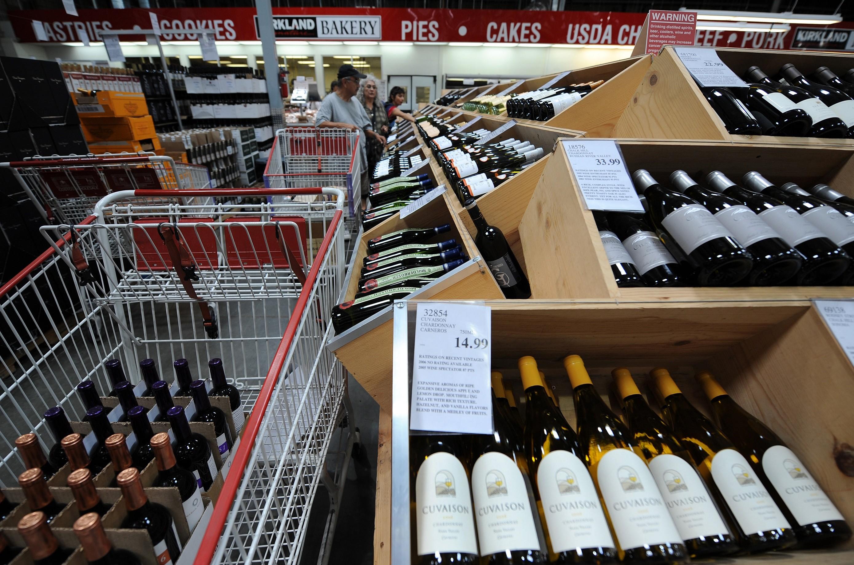 Costco Wine racks