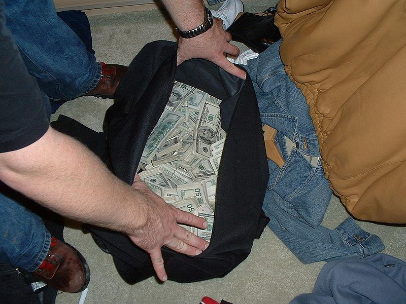 Crips Money seizure