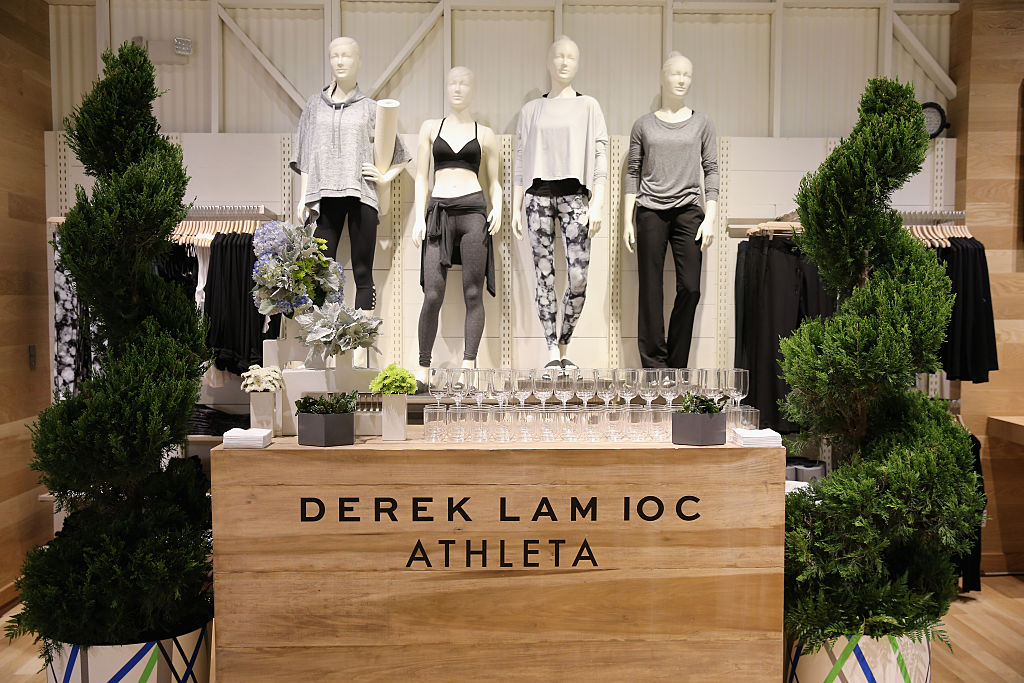 Derek Lam 10C Athleta launch party at Athleta's new Soho store