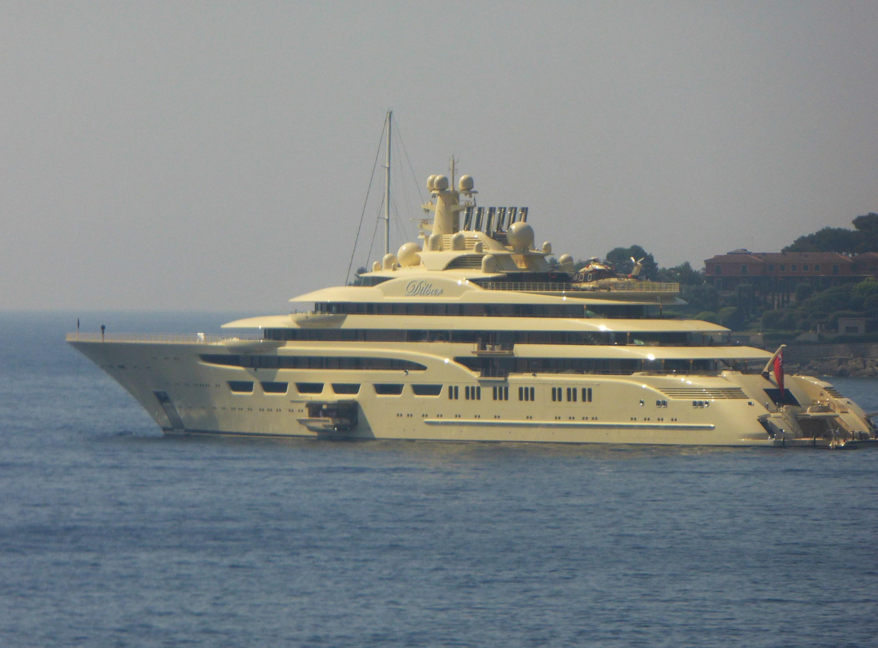 Dilbar luxury Yacht