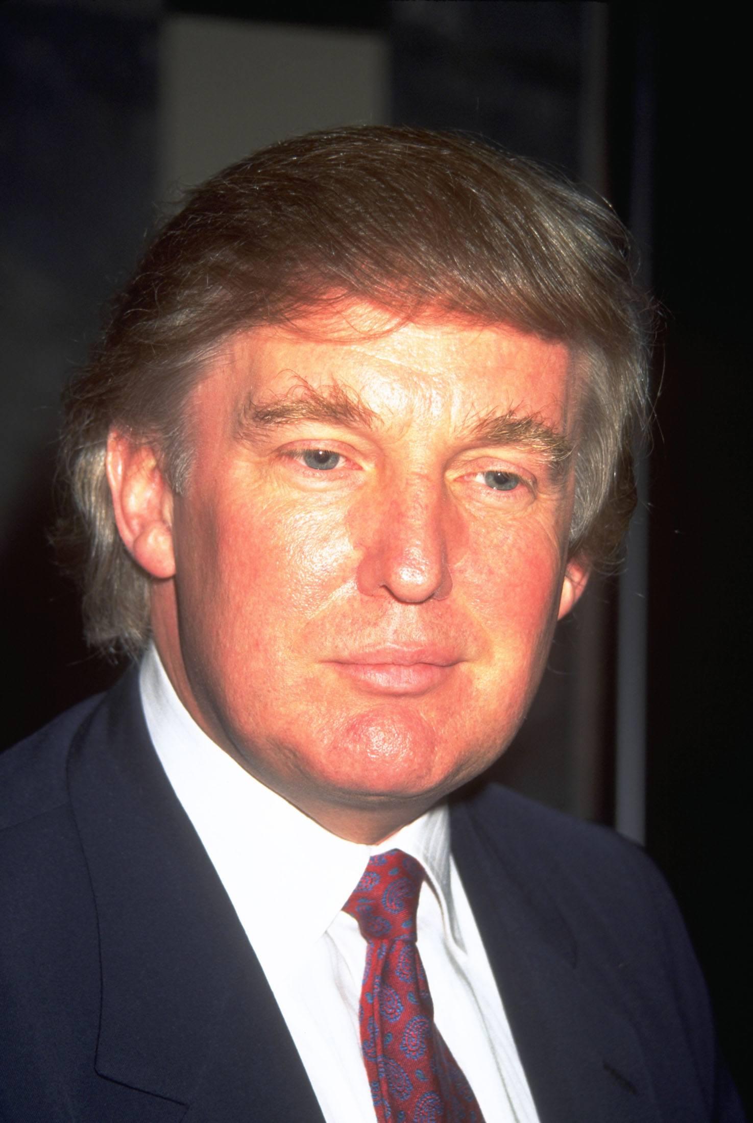 Donald Trump in the 90s