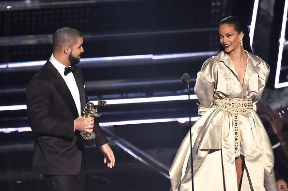 Drake and Rihanna