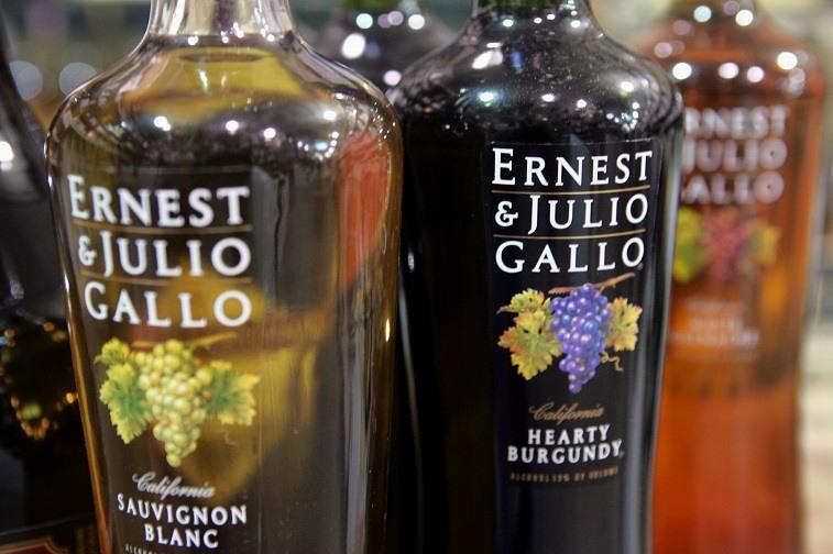 Wines from E.&.J. Gallo