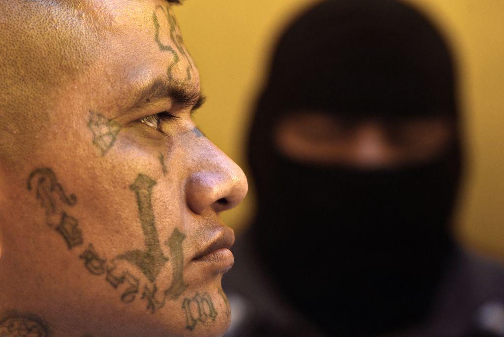 A former 18th Street gang member attends a class on biblical education