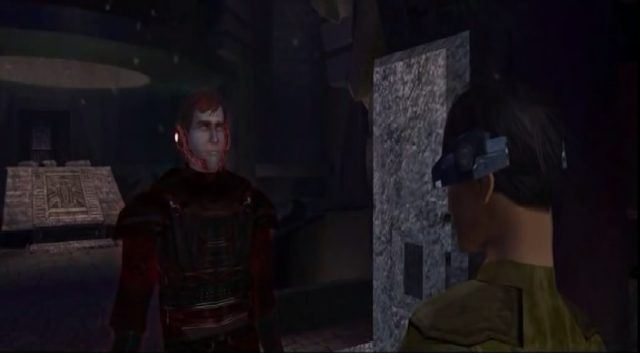 Exar Kun in a video game