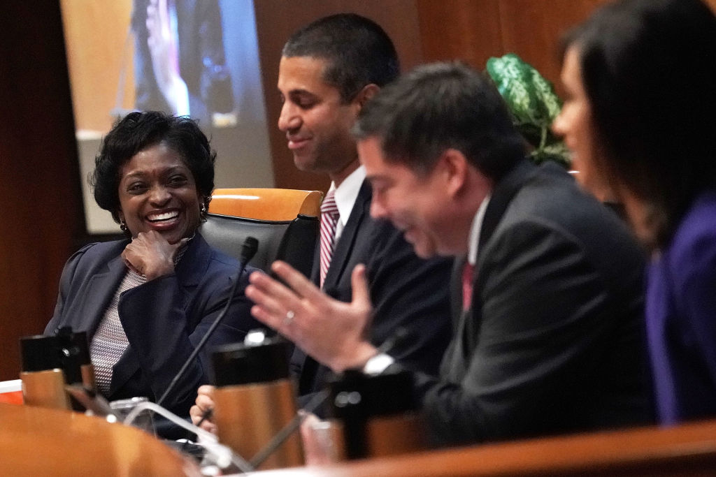 FCC has voted to repeal its net neutrality rules at the meeting