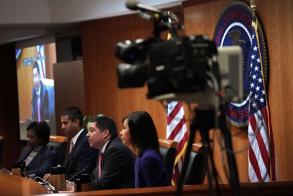 FCC has voted to repeal its net neutrality rules at the meeting.