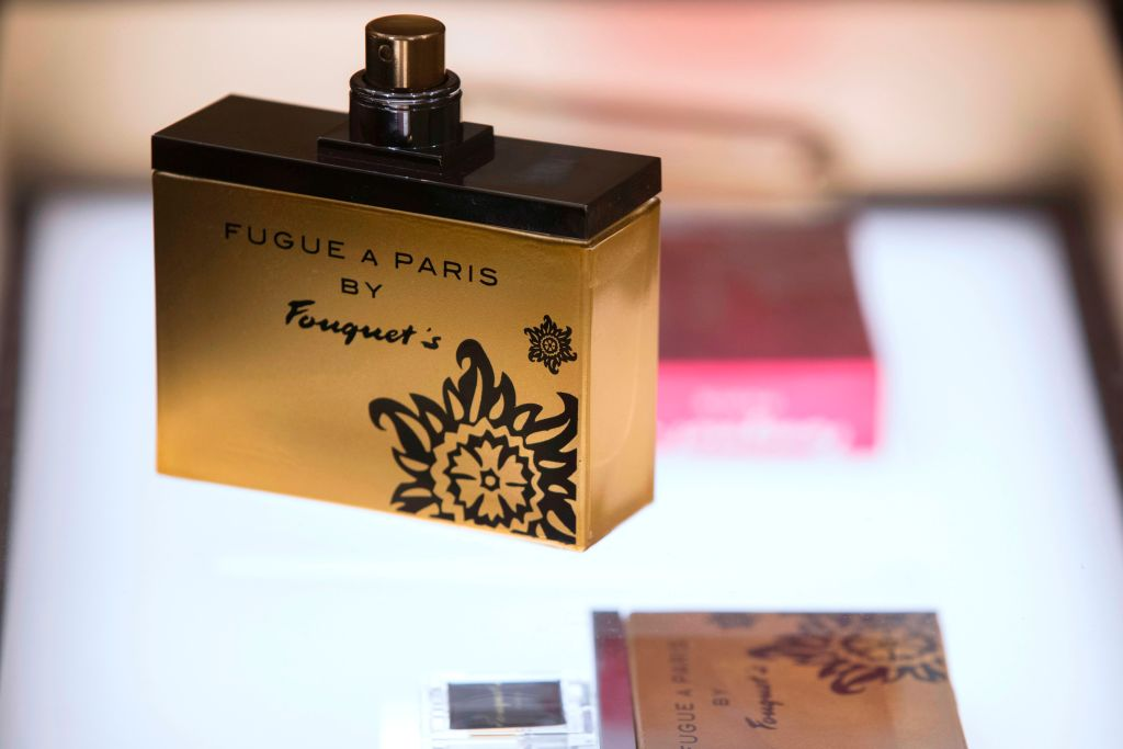 A perfume bottle by Fouquet's