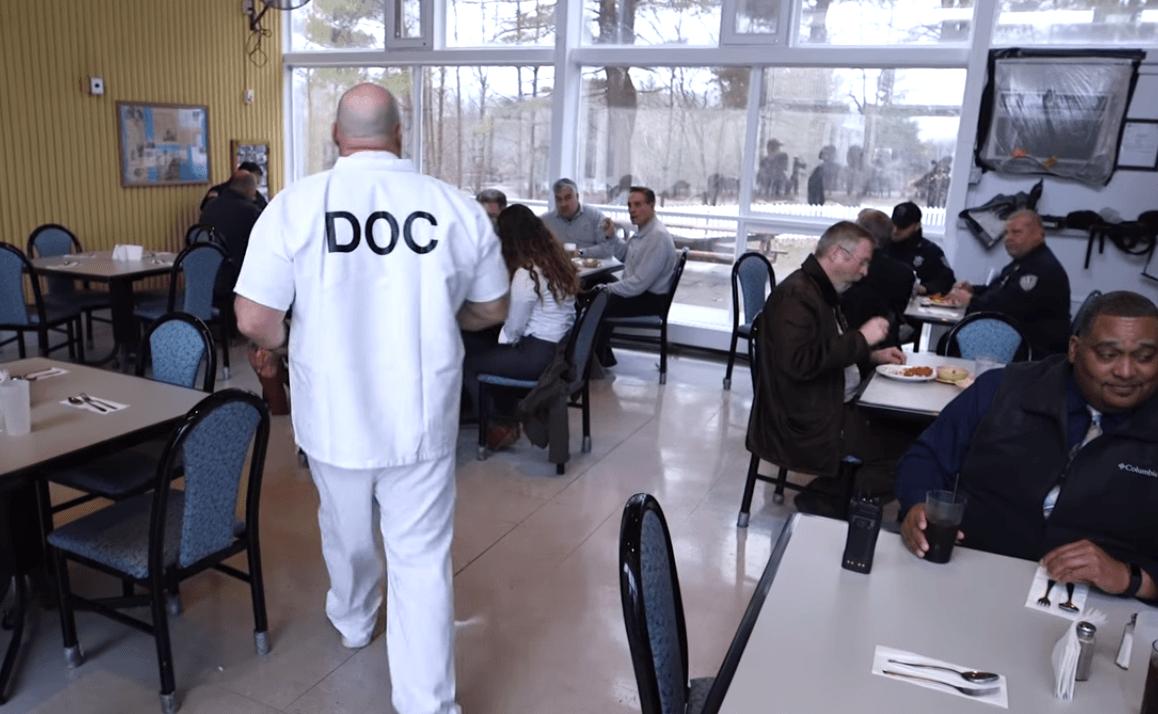Fife and Drum prison restaurant