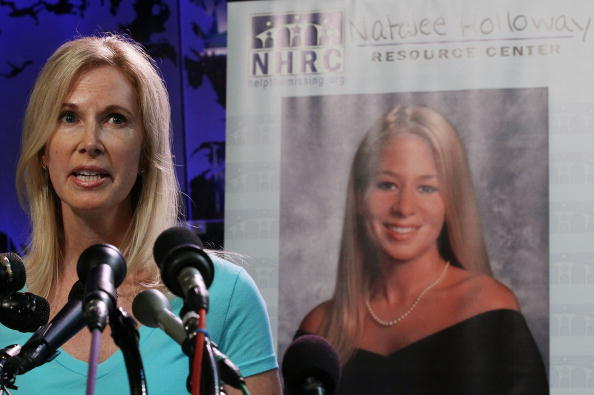 Beth Holloway participates in the launch of the Natalee Holloway Resource Center