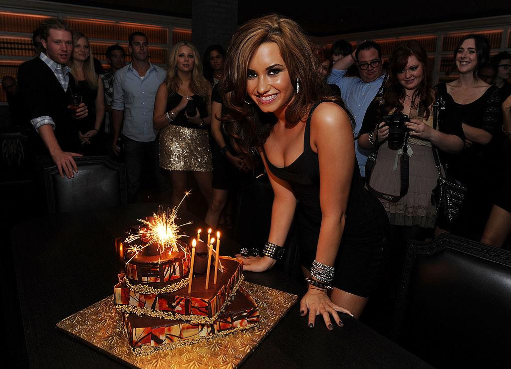 Demi Lovato's 18th birthday party