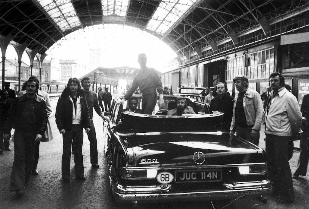 David Bowie limousine, 1976