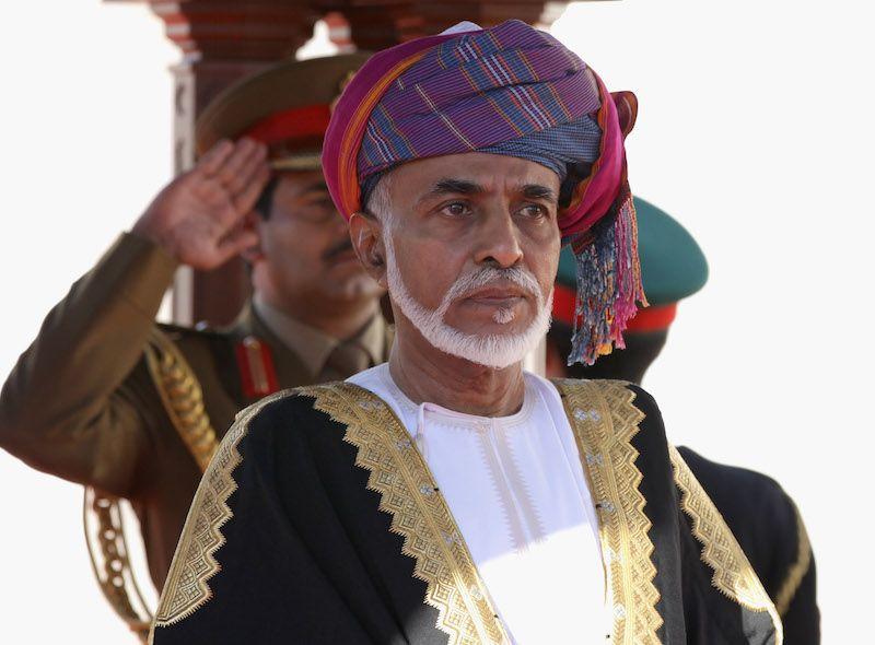 The Sultan of Oman