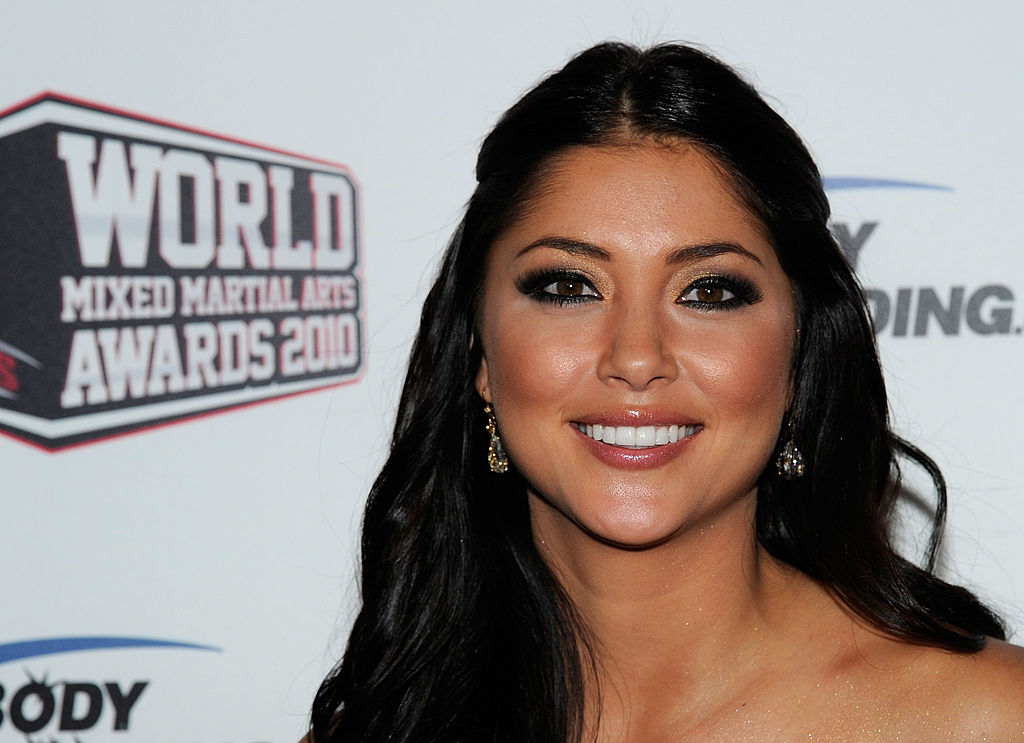 UFC Girl and model Arianny Celeste in 2010