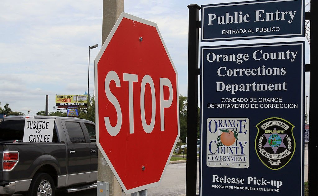 Orange County Corrections Department in Orlando, Florida.