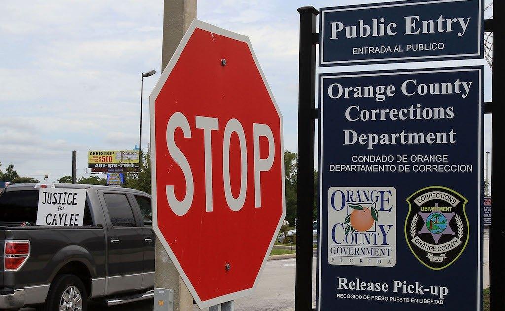 Orange County Corrections Department in Orlando, Florida.