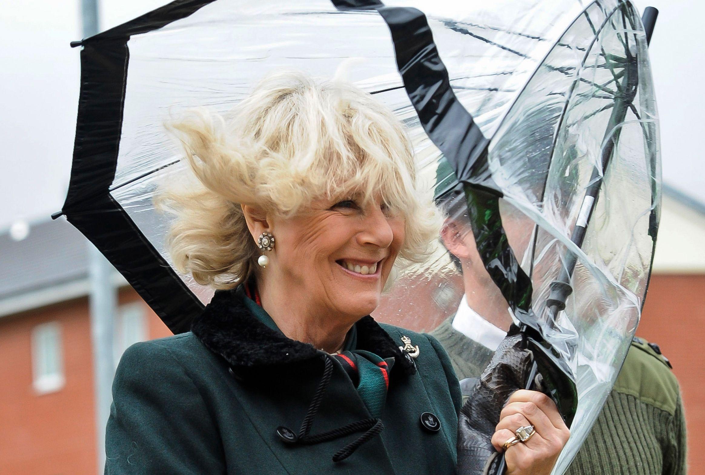 Britain's Camilla, Duchess of Cornwall
