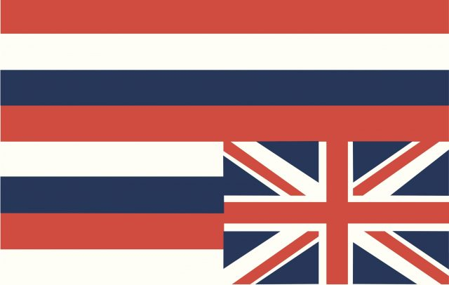 The Flag of the Hawaiian sovereignty movement