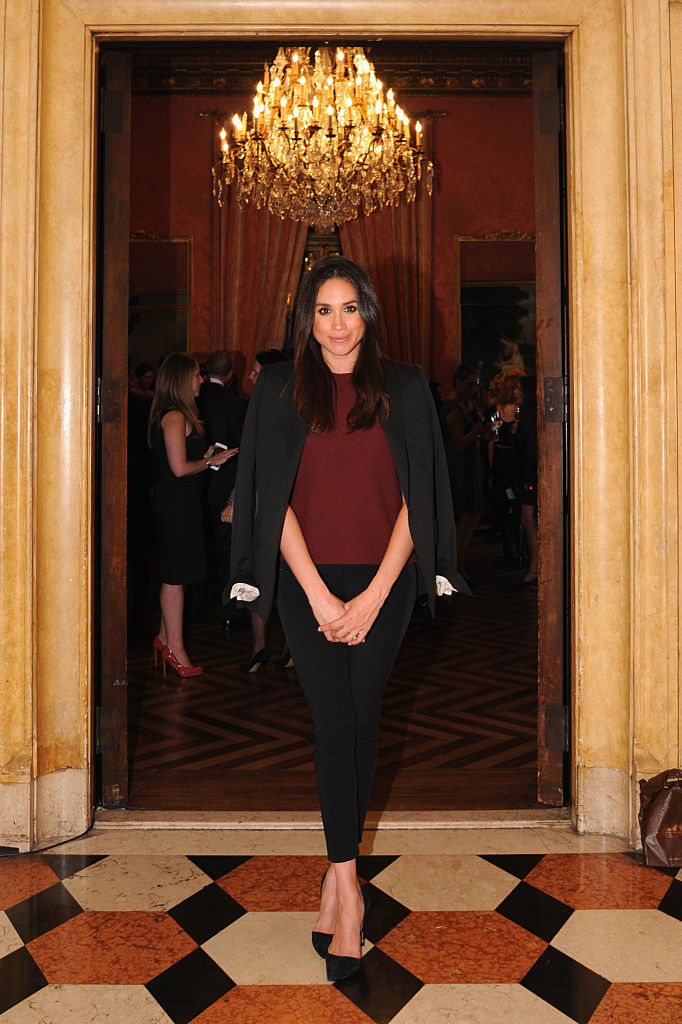 Meghan Markle attends Relais & Chateaux 60th Anniversary Guest Chef Dinner Launch at Consulate General of France