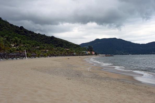 a beach in costa rica