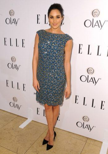 Actress Meghan Markle attends ELLE's Annual Women in Television Celebration